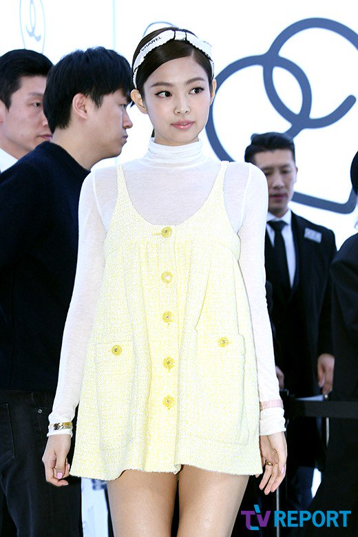 a65d578a25bfb Jennie at CHANEL Pharrell Williams Capsule Collection Launch Event