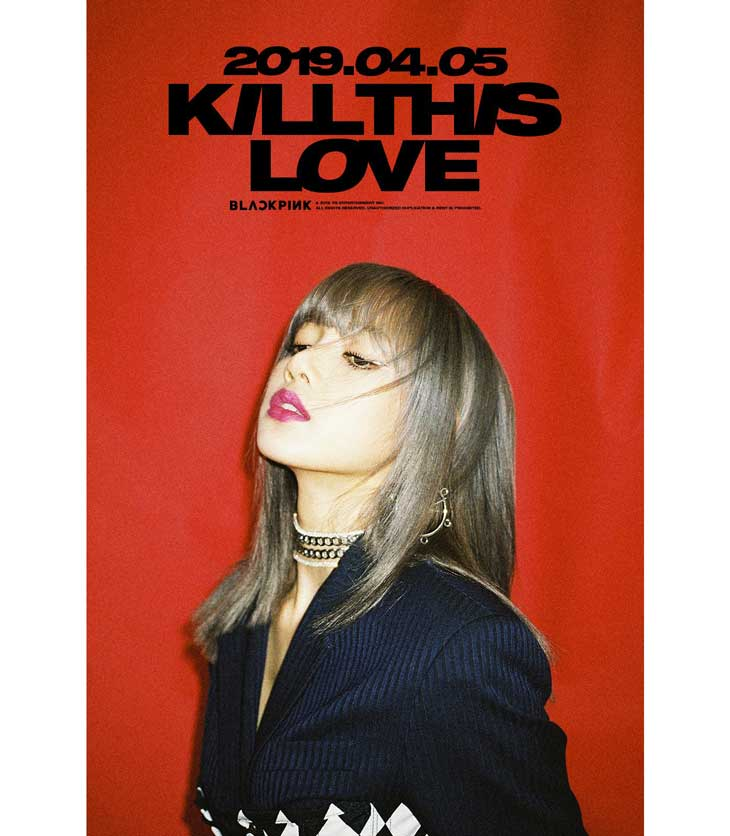 BLACKPINK Comeback Teaser, Lisa: Kill This Love for April 5, 2019