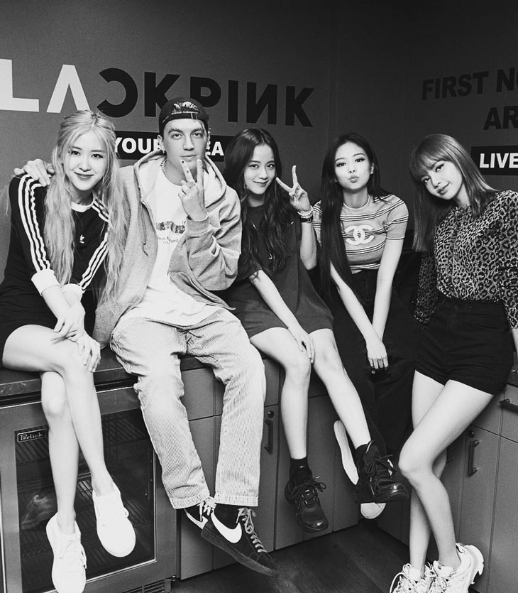 LANY Shared New Photo with BLACKPINK After Their Tour in LA