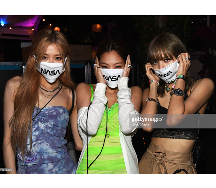 Jennie, Rosé, Lisa Spotted Wearing Ariana Grande Merch at Coachella