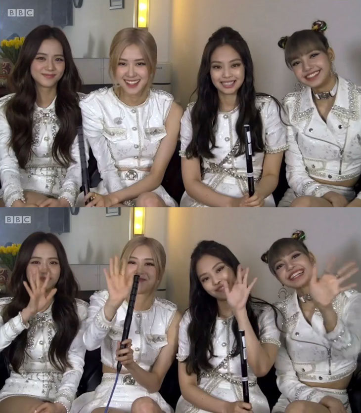 Watch BLACKPINK Backstage Interview with BBC UK