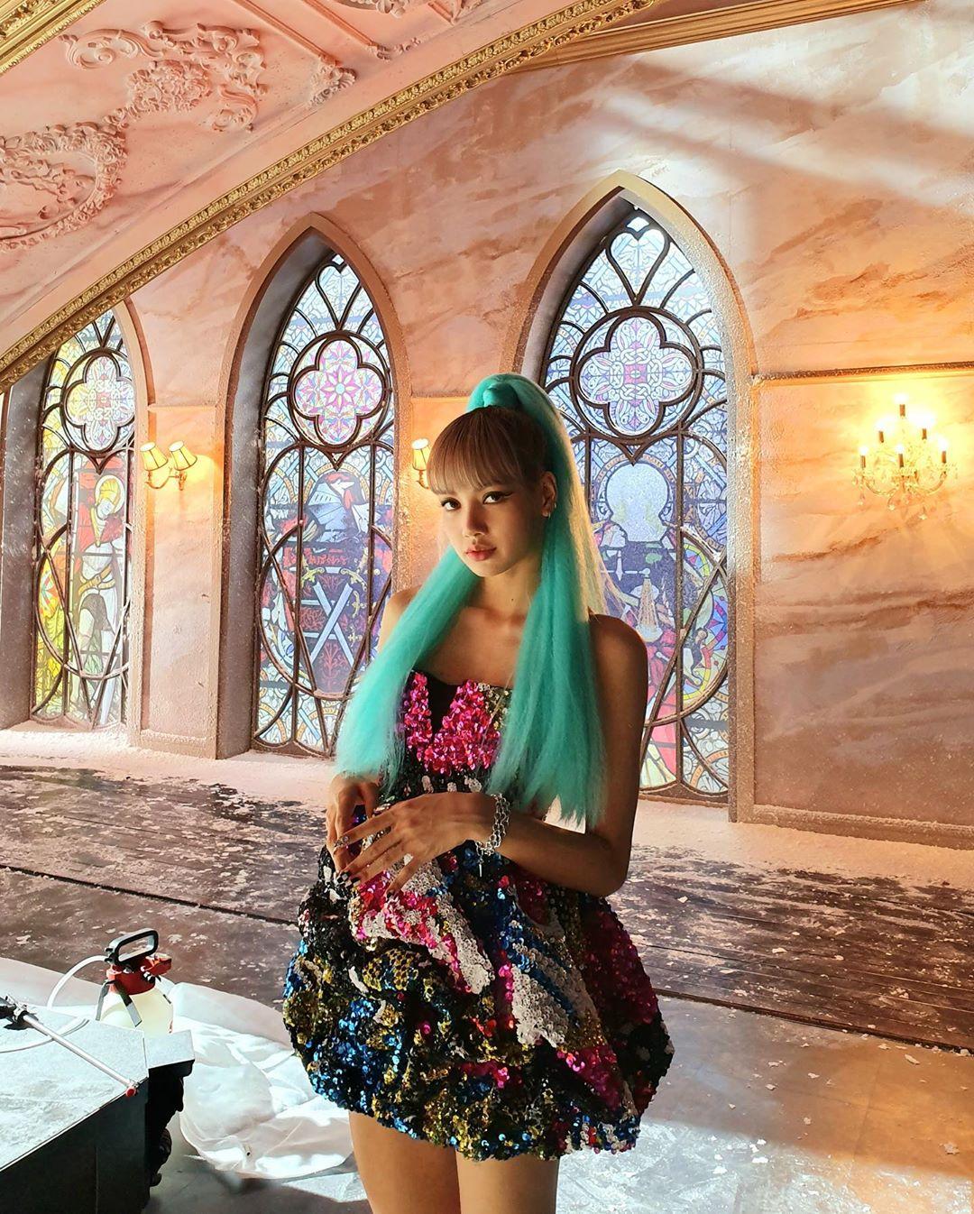 4 Blackpink Lisa Instagram Update 6 August 2019 Kill This Love Behind The Scenes