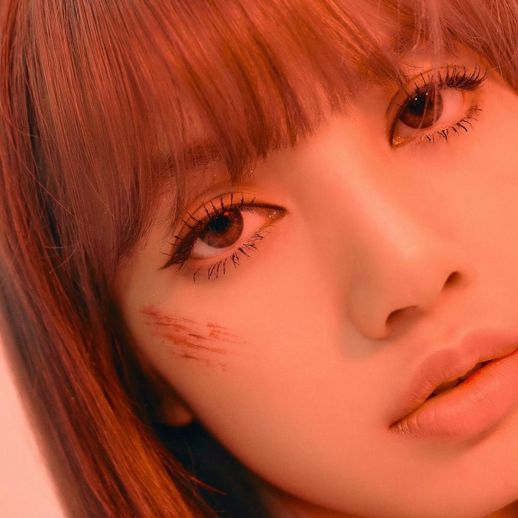 5 HQ BLACKPINK Lisa Kill This Love Photocard with bruises scar makeup 1