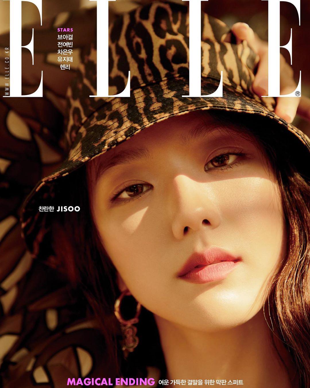 "BLACKPINK Jisoo shows ""Elle Korea"" her charm"
