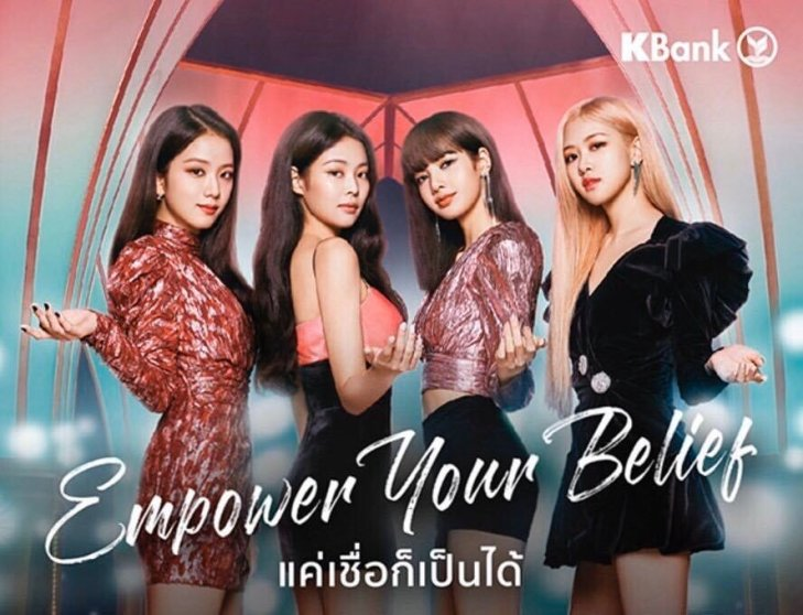 BLACKPINK KBank Thailand
