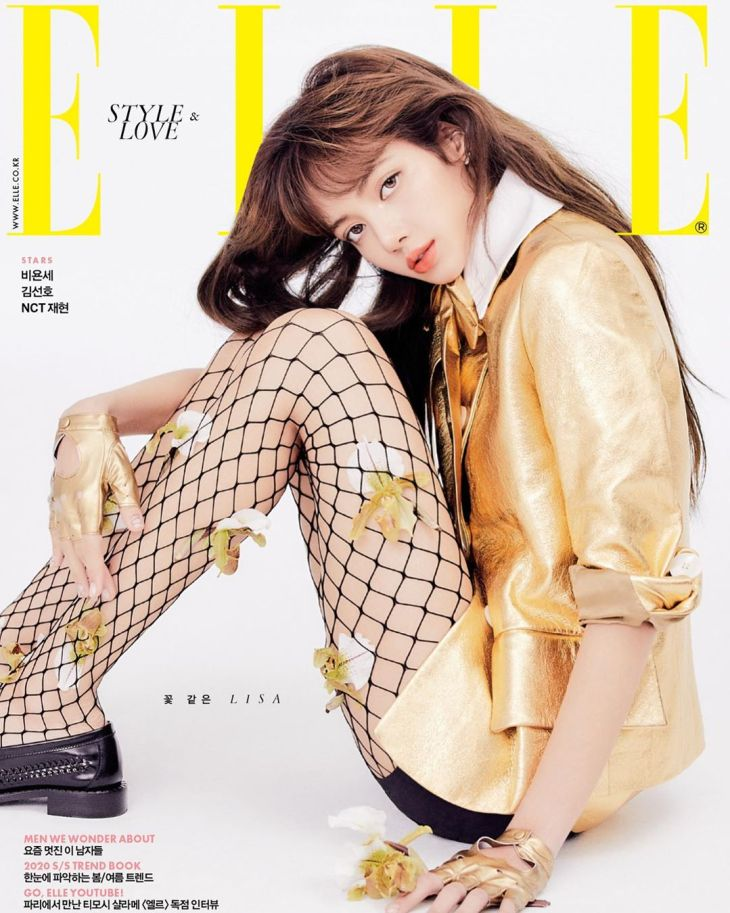 BLACKPINK Lisa PRADA Elle Korea