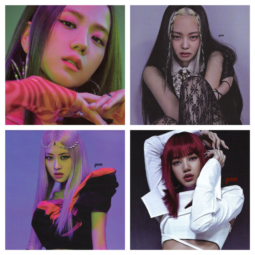 SCAN BLACKPINK How You Like That Special Edition