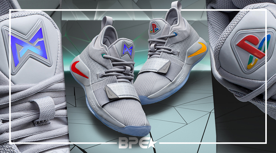 save off 89167 91c87 Nike x Playstation | 2º tênis de Paul George Inspirado pela ...