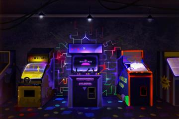 arcade_machine Gravity Wars