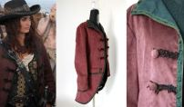 Giacca Angelica Teach (Pirati dei Caraibi) /// Angelica Teach's jacket (Pirates of the Caribbean)