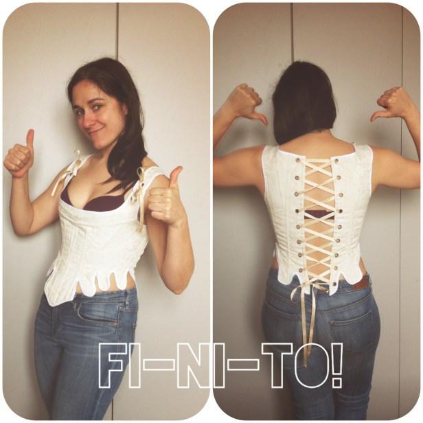 FI-NI-SHED corset!