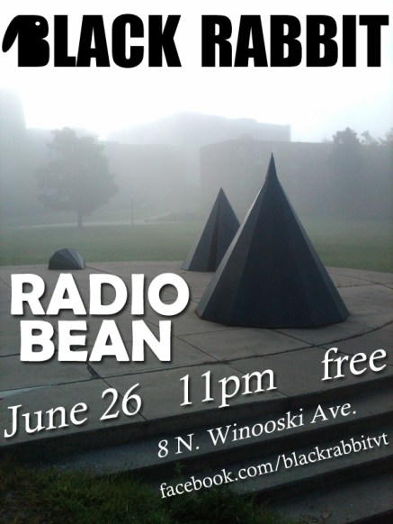 Black Rabbit flyer Radio Bean 6.26.11