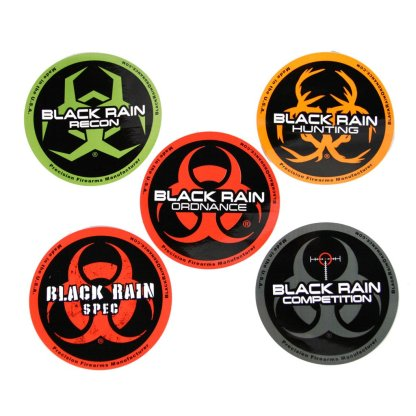Black Rain Ordnance Sticker Pack