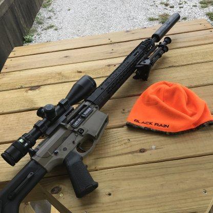 BRO Hunter Orange Skull Cap
