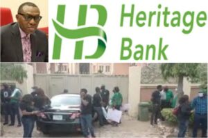 Senator Andy Uba Threatens to Sue Heritage Bank over Staff's Protest in His Residence