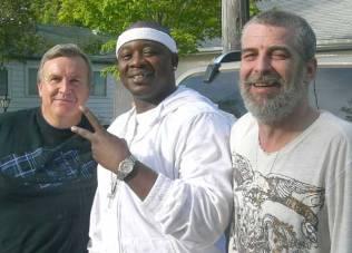 Freddy Will (center), Ken Cowle (right)