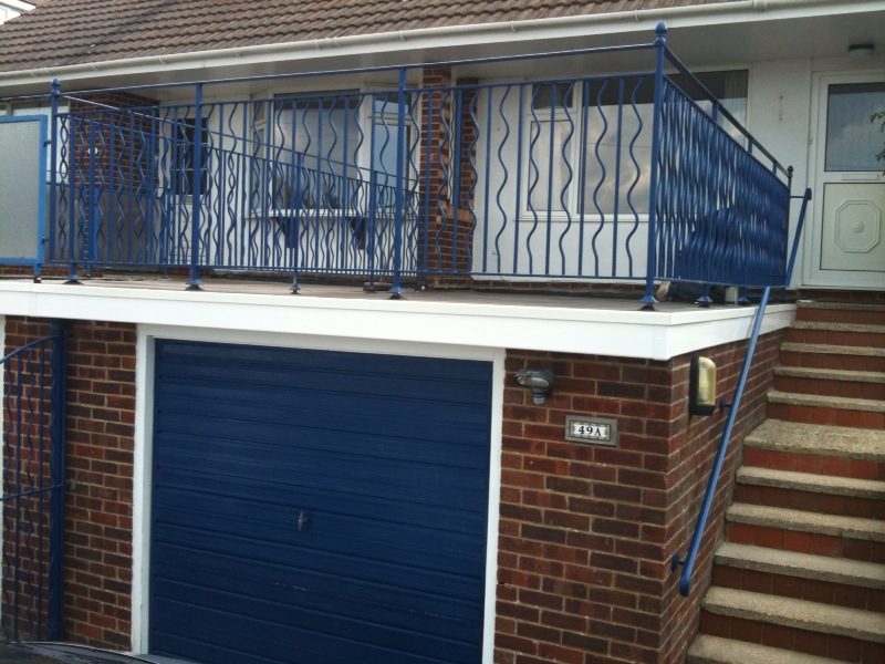 Mastic Asphalt Balcony Over Garage