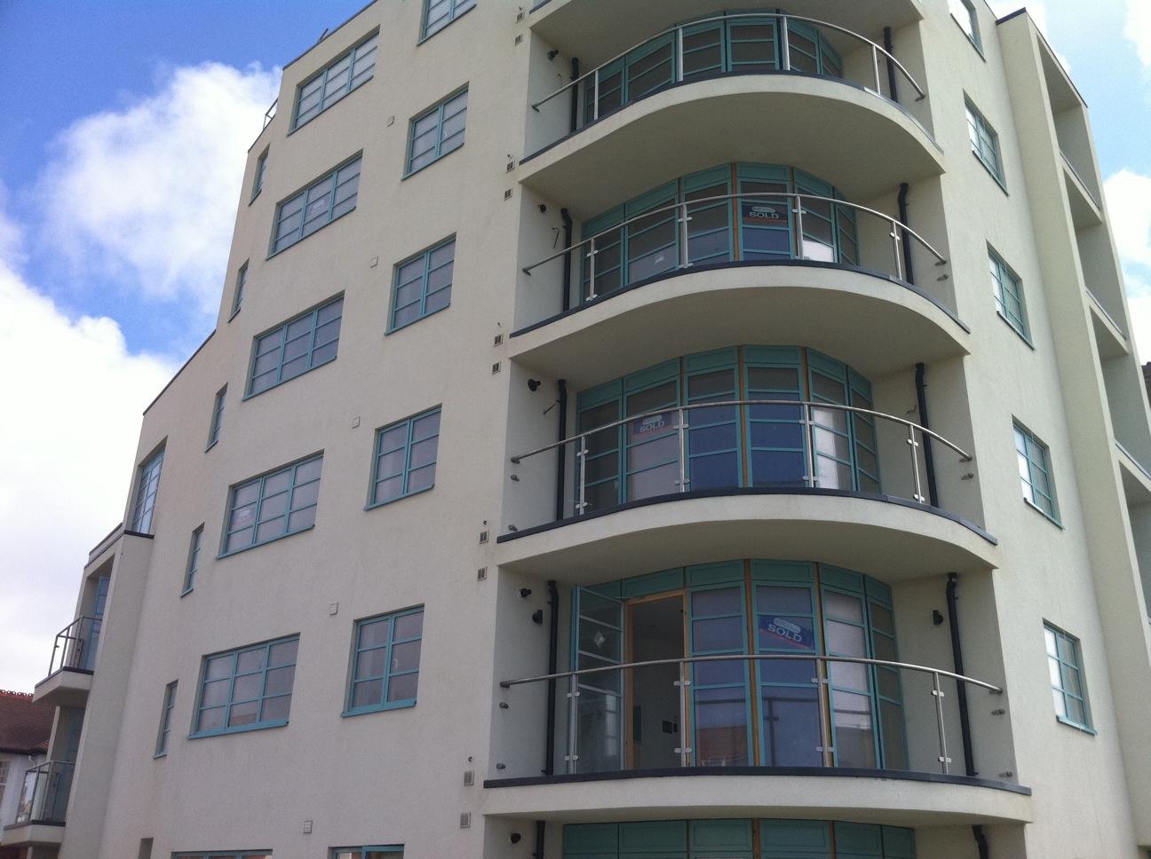 New Build Mastic Asphalt Balconies