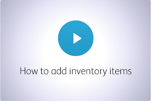 QuickBooks POS Video How to Add Inventory