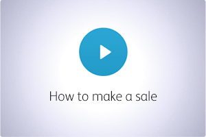 QuickBooks POS Video How to Make a Sale