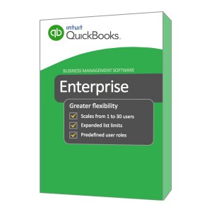 Review QuickBooks Enterprise Solutions v