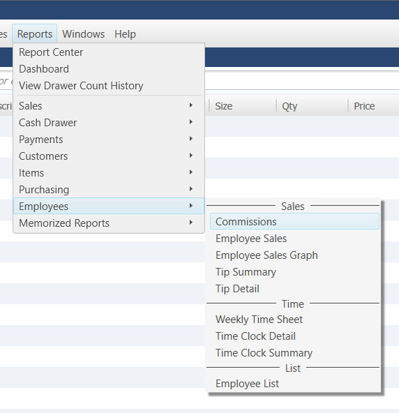 QuickBooks POS: Employee Commissions | BlackRock