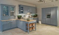 Duck Egg Blue Shaker Kitchen Style