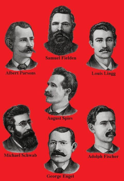 portraits of haymarket martyrs