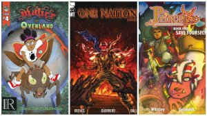 Malice in Ovenland, One Nation, Princeless
