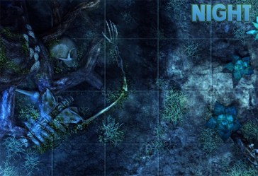 forest night battlemap fallen giants map games bored mean even know