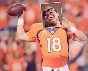 Payton Manning blind like Stevie Wonder