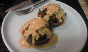 Engine 2 Diet Stuffed Portobellow Mushrooms