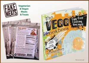 The Vegg vegan egg yolk and cookbook