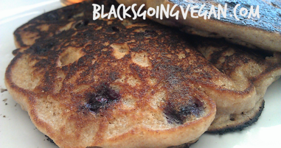 blueberry pancakes vegan pancake recipes