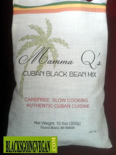 Mama qs cuban black beans