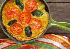 vegan end of summer egg free frittata
