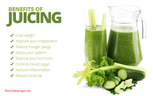 juicing for better skin and hair