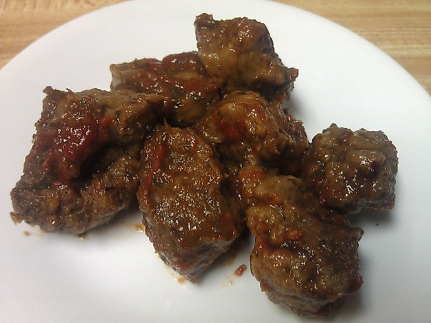 Italian-Style Vegan Meatballs in Spicy Tomato Sauce - recipe by Deborrah Cooper of BlacksGoingVegan.Com
