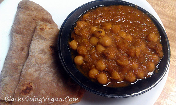 Indian chickpea curry chana masala vegan channa masala recipe
