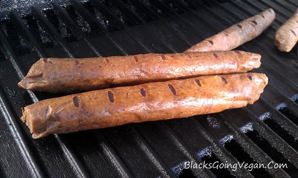 vegan hot dog recipe, veggie dogs