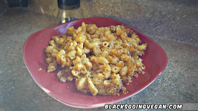 vegan mac n cheese recipe by Deborrah Cooper | BlacksGoingVegan.Com