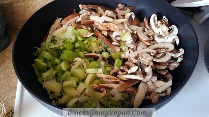 leek mushroom pasta 5