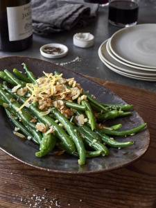 lemon garlic green beans - click for recipe