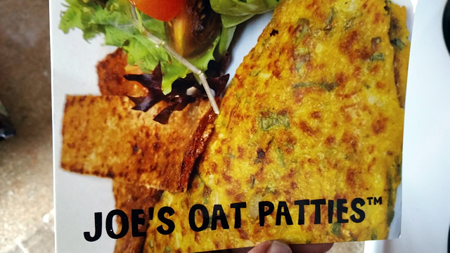 Joes Oat Patties product review from BlacksGoingVegan.Com