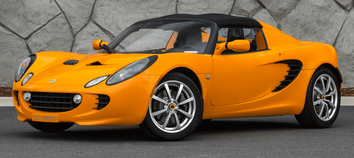 2005 Chrome Orange Lotus Elise For Sale