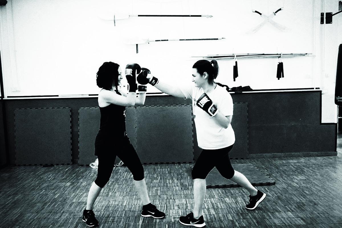 la tigre nera, gym boxing, flavia piantino gazzano, black sheep in milan