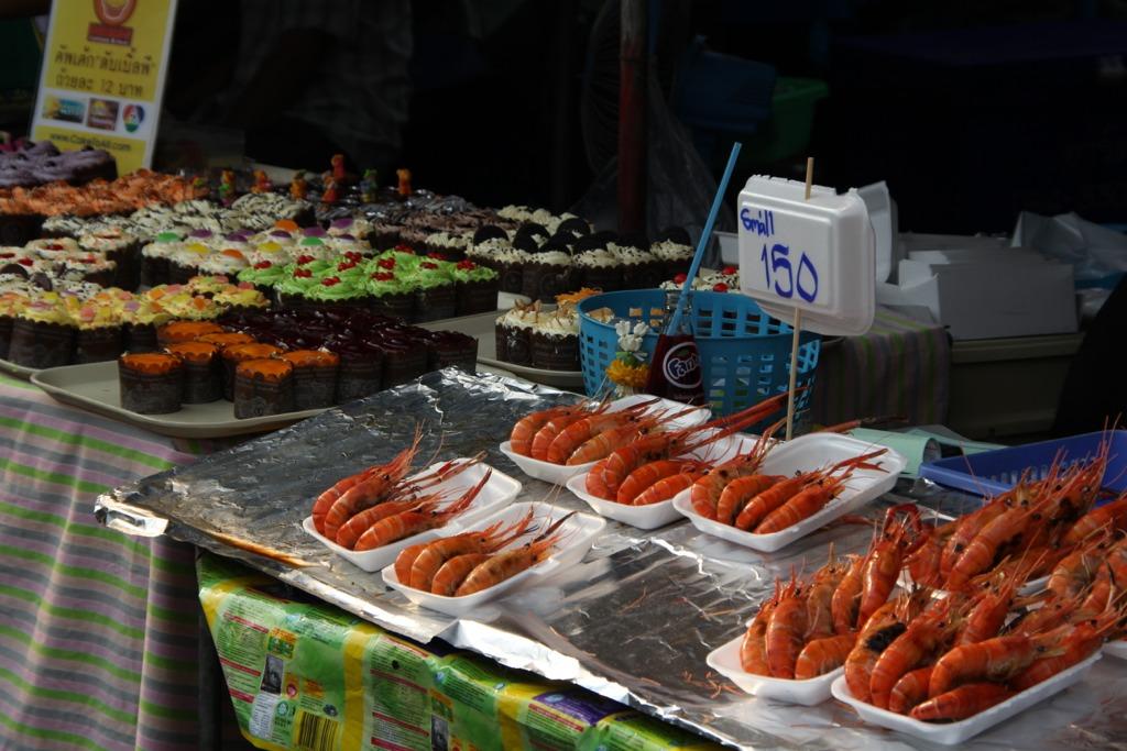 Chatuchak Market, bancarella cibo