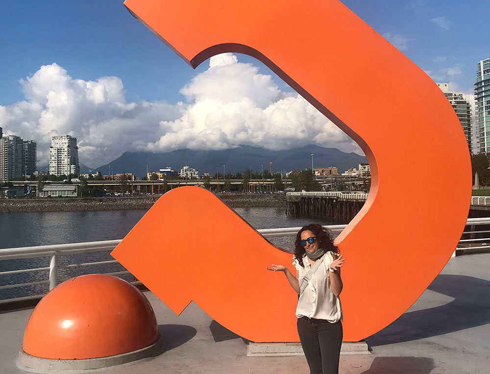 Flavia a Vancouver