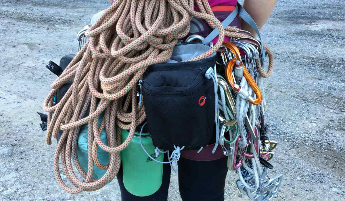 Essential Gear for Multi-Pitch Rock Climbing