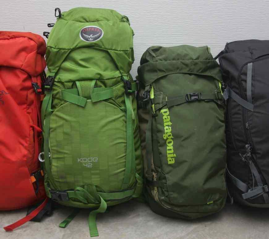 Ski Pack Comparison